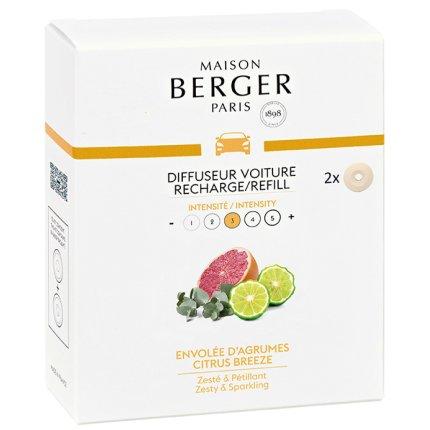 Rezerve ceramice odorizant masina Berger Citrus Breeze 2piese