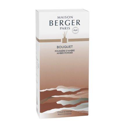 Difuzor parfum camera Berger Bouquet Parfume Land Terre de Sienne Poussiere d'Ambre 115ml