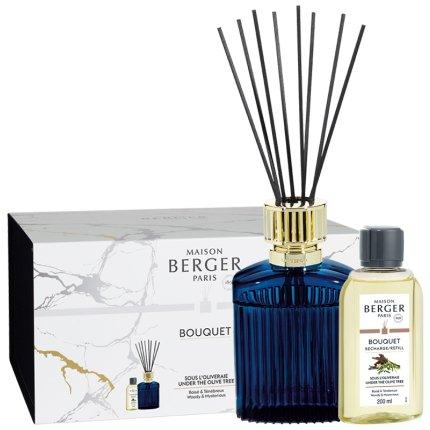 Difuzor parfum camera Berger Alpha Imperial Blue cu parfum Under the Olive Tree 200ml
