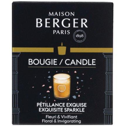 Lumanare parfumata Berger Olympe Rose Cuivre Petillance Exquise 180g