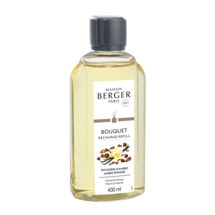 Parfum pentru difuzor Berger Poussiere d'Ambre 400ml