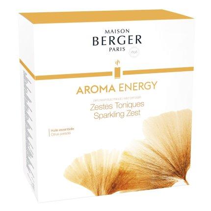 Difuzor ultrasonic parfum Berger Aroma  Energy + parfum Zestes toniques 475ml