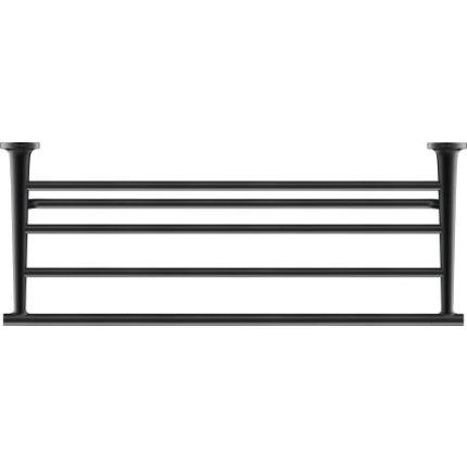 Etajera port prosop Duravit Starck T, negru mat