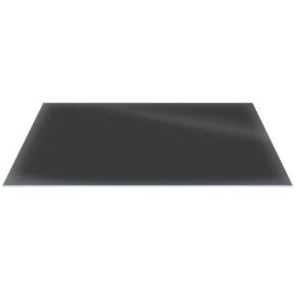 Raft sticla securizata Duravit DuraSquare 770x380, negru