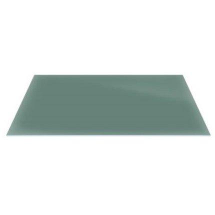 Raft sticla securizata Duravit DuraSquare 770x380, verde jad