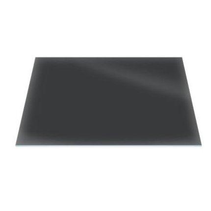 Raft sticla securizata Duravit DuraSquare 420x264, negru