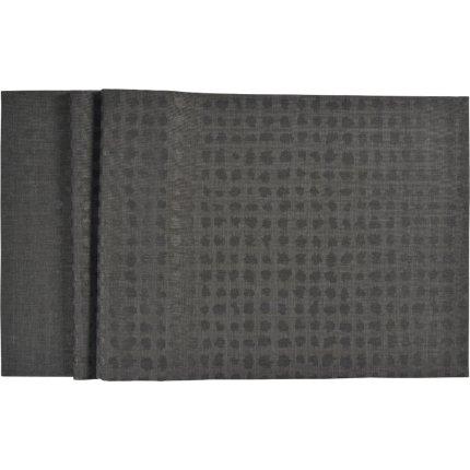 Napron Sander Jacquards Club 50x250cm, protectie anti-pata, 34 graphite