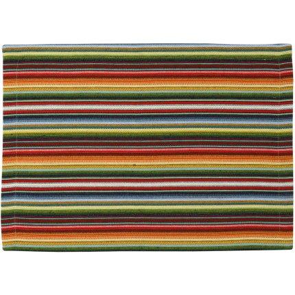 Napron Sander Jacquards Strip 40x100cm, 40 natur