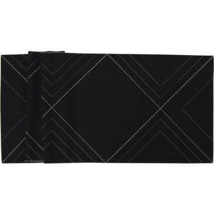 Napron Sander Embroidery Focus 50x150cm, 39 negru