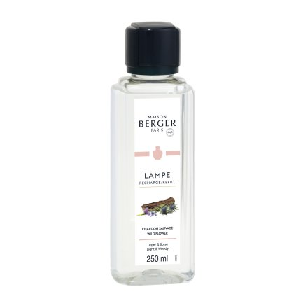 Set 2 parfumuri pentru lampa catalitica Berger Land Lait de Figue & Chardon Sauvage 2 x 250ml