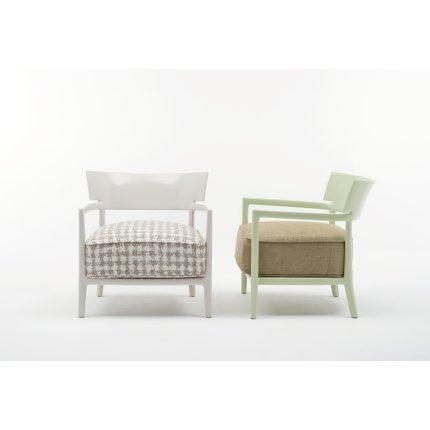 Fotoliu Kartell Cara Solid design Philippe Stark & Sergio Schito, verde/verde