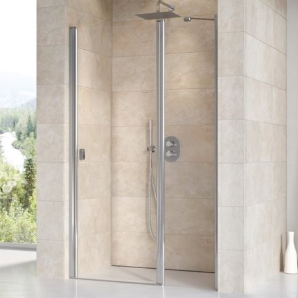Usa de nisa Ravak Concept Chrome CSD2-120, 120cm, alb