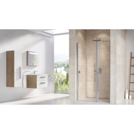 Usa de nisa Ravak Concept Chrome CSD2-100, 100cm, alb