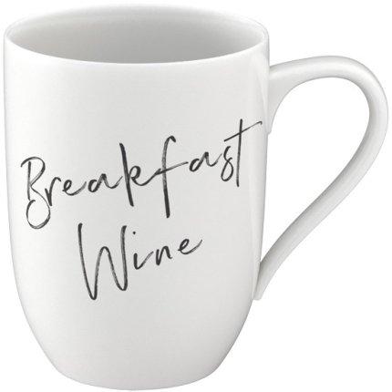 """Cana Villeroy & Boch Statement """"Breakfast Wine"""" 340ml"""