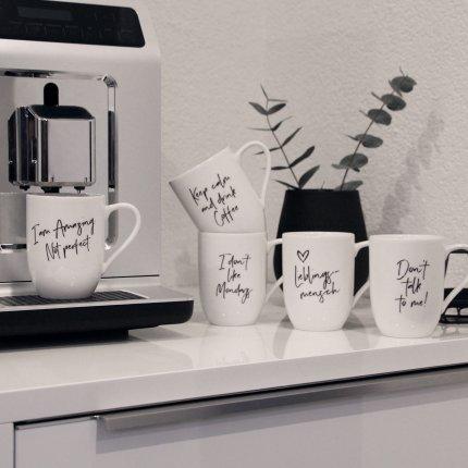 """Cana Villeroy & Boch Statement """"Coffee is hug in a mug"""" 340ml"""