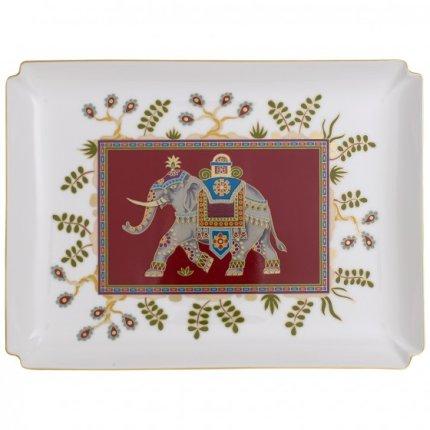 Platou decorativ Villeroy & Boch Samarkand Rubin Gifts 28x21cm