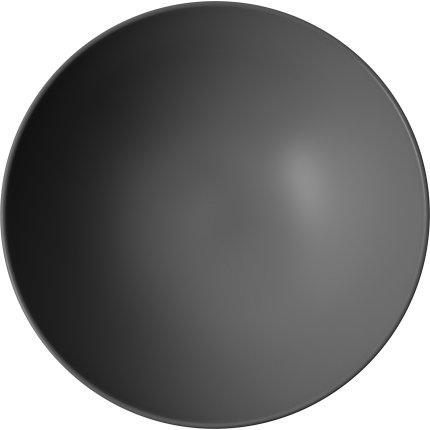 Bol Villeroy & Boch Iconic 21.5cm, negru