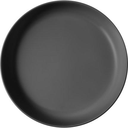 Bol plat Villeroy & Boch Iconic 24m, negru