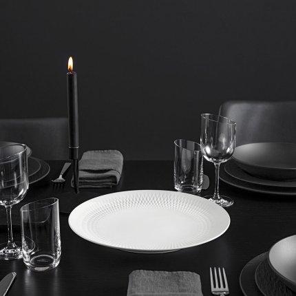 Platou decorativ Villeroy & Boch Manufacture Collier 32x3,5cm, alb