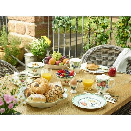 Farfuriuta pentru ceasca de cappuccino Villeroy & Boch French Garden Fleurence 17cm