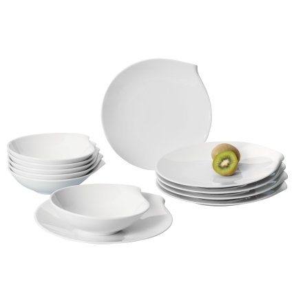 Set servire Villeroy & Boch Flow Dinner Set 12 piese