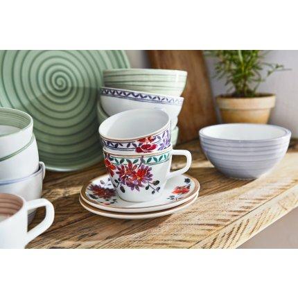 Ceasca si farfuriuta cafea Villeroy & Boch Artesano Provencal Lavendel 0.25 litri