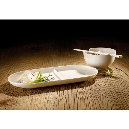 Set 2 tavi ceramice Villeroy & Boch Soup Passion 33x16cm