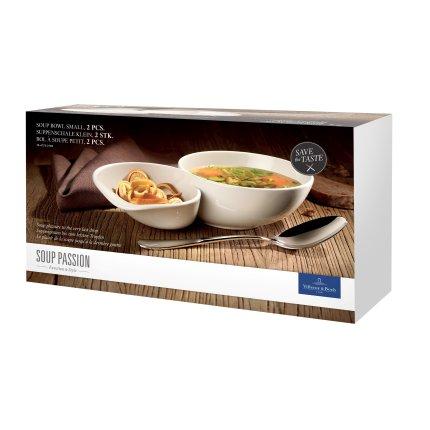 Set 2 boluri supa Villeroy & Boch Soup Passion 23x13cm