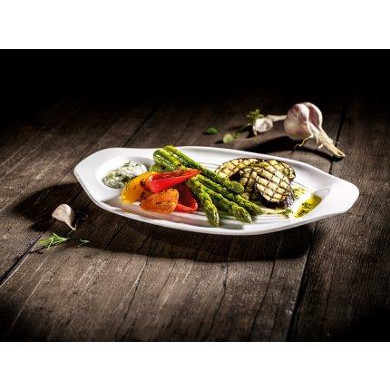 Set 2 platouri legume Villeroy & Boch Barbeque Passion 33x22cm