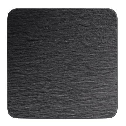 Farfurie Villeroy & Boch Manufacture Rock Gourmet 32.5x32.5cm