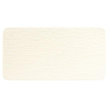 Platou Villeroy & Boch Manufacture Rock Blanc 35x18cm