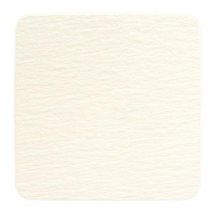 Farfurie Villeroy & Boch Manufacture Rock Blanc Gourmet 32.5x32.5cm