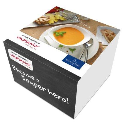 Set 2 boluri Villeroy & Boch Vapiano Soup 18x16cm