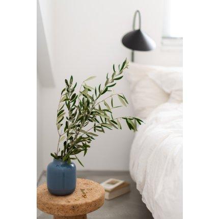 Vaza Villeroy & Boch Lave Home Nek Small, 15.5cm, Bleu uni