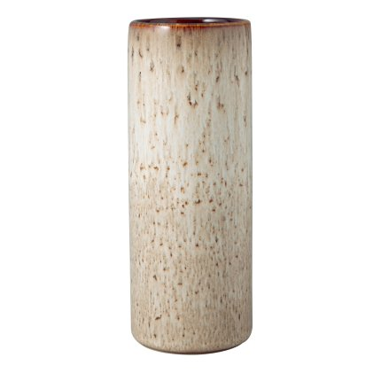 Vaza Villeroy & Boch Lave Home Cylinder Small, 20cm, Beige
