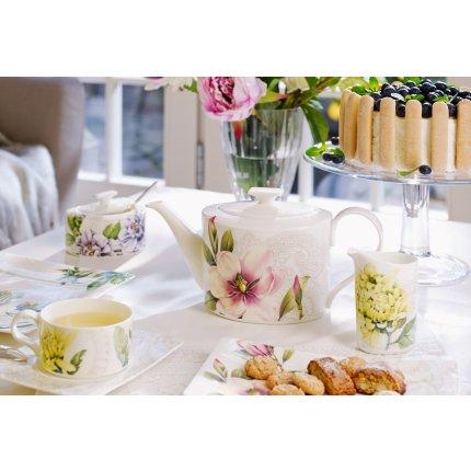 Ceasca si farfuriuta ceai Villeroy & Boch Quinsai Garden 0.23 litri