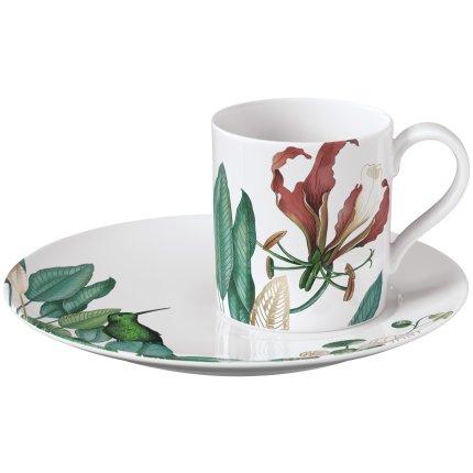 Ceasca si farfuriuta cafea Villeroy & Boch Avarua 0.21 litri