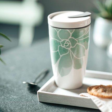 Cana cu capac like. by Villeroy & Boch Coffee To Go 0.35 litri, Socculente
