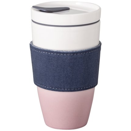Cana cu capac like. by Villeroy & Boch Coffee To Go 0.35 litri, Powder