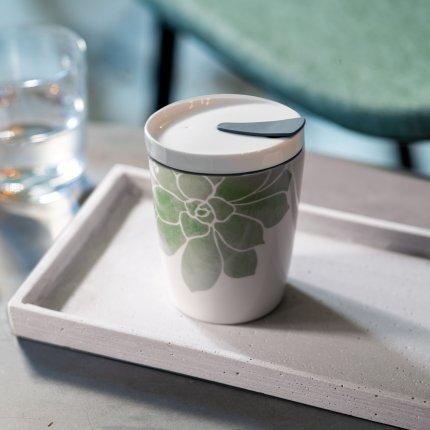 Cana cu capac like. by Villeroy & Boch Coffee To Go 0.29 litri, Socculente