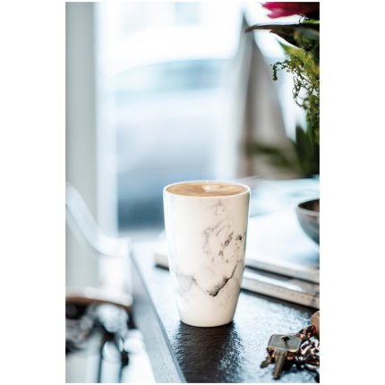 Cana cu capac like. by Villeroy & Boch Coffee To Go 0.35 litri, Marmory
