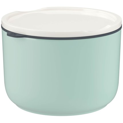 Bol cu capac like. by Villeroy & Boch To Go & ToStay Lunch Box L Mineral 13cm, h9,5cm