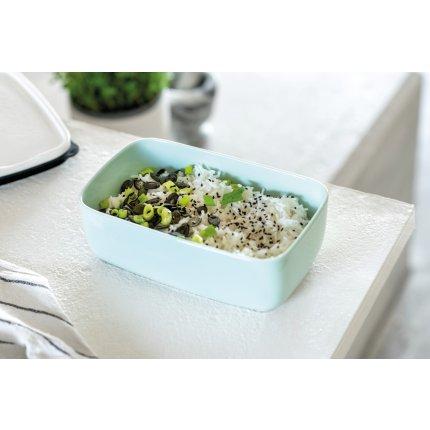 Bol cu capac like. by Villeroy & Boch To Go & ToStay Lunch Box L Mineral 20x13cm, h7,5cm