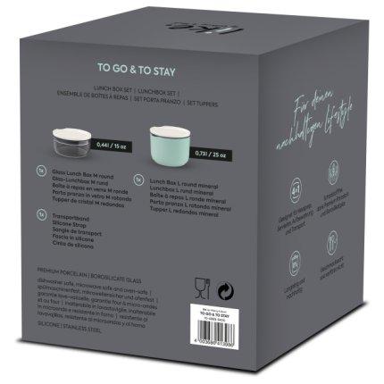 Set boluri cu capac like. by Villeroy & Boch To Go & ToStay Lunch Box Set 13x13x15cm