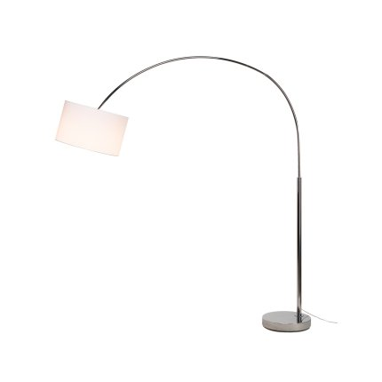 Corp lampadar SLV Fenda Bow Base, 1x 40W E27, h228cm, crom