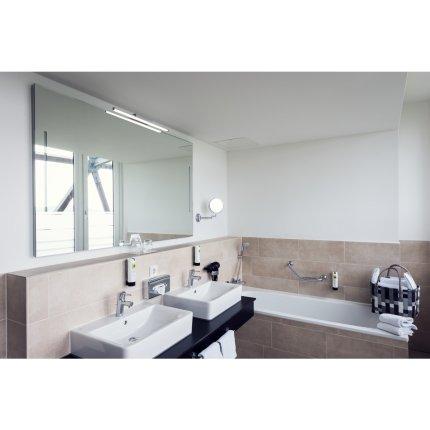Iluminare oglinda SLV Glenos 60, LED 12W, 61.5cm, IP20, gri
