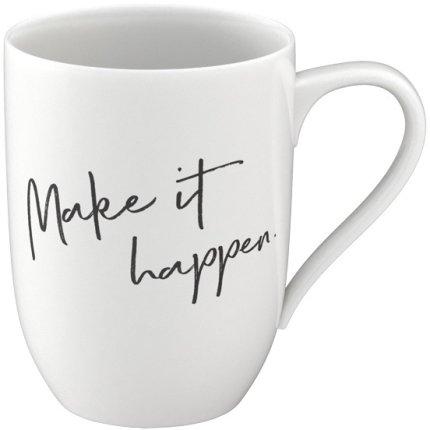 "Cana Villeroy & Boch Statement ""Make it happen"" 340ml"