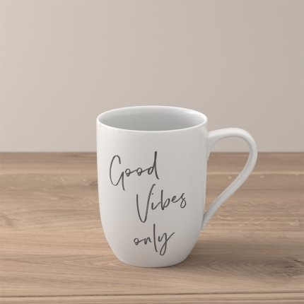 """Cana Villeroy & Boch Statement """"Good Vibes only"""" 340ml"""