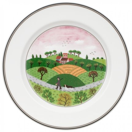 Farfurie Villeroy & Boch Design Naif Salad Huntsman 21 cm