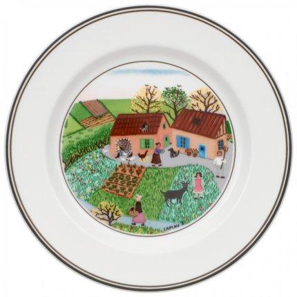 Farfurie Villeroy & Boch Design Naif Bread & Butter Farm 17 cm